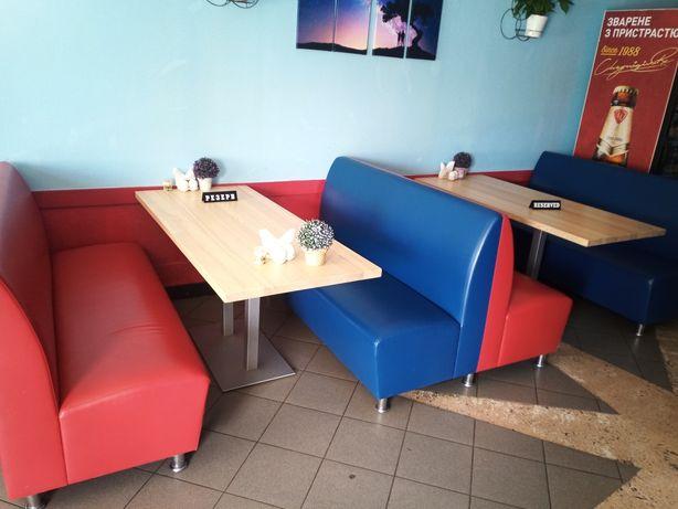 Продам диваны и столы для кафе
