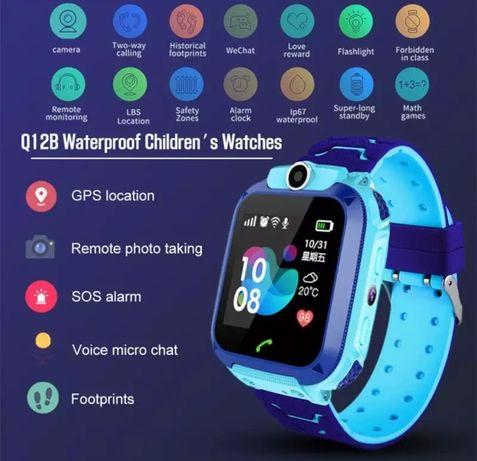 Relógio para crianças Smartwatch Kid faz e recebe chamadas telefónicas
