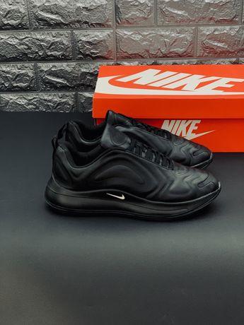 Натуральная кожа! +8° -15°Кожаные кроссовки Nike Air Max 720 Скидка!