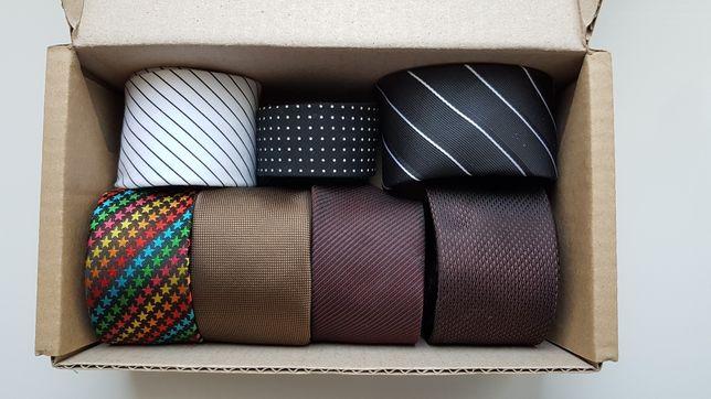 Узкие галстуки и бабочки