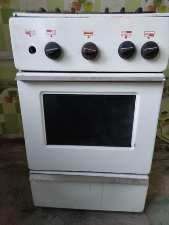 Плита печка газовая 4-х комфорочная