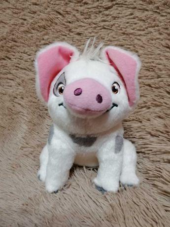 Мягкая игрушка поросёнок Пуа из м/ф Моана Дисней
