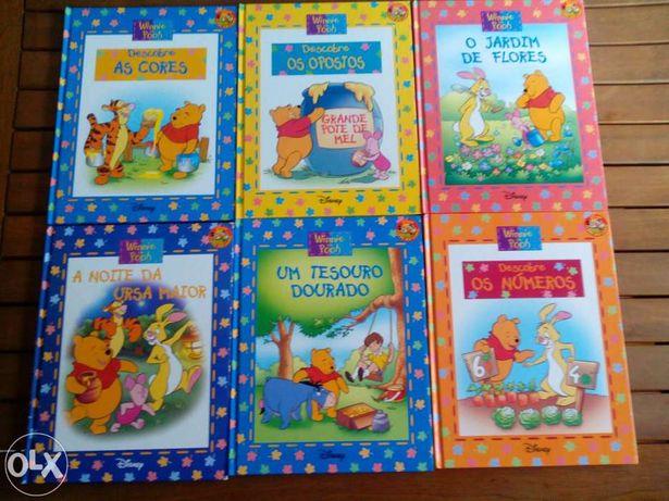 8 Livros infantis Winnie the pooh