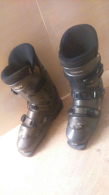 Grafitowe szare buty narciarskie 39 40 Salomon Symbio 500
