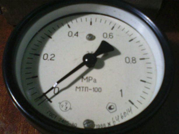 новый манометр МТП-100