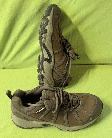 Columbia Sapatos Couro Sapatilhas Novas Caminhada Trekking Hiking