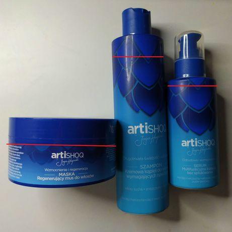Zestaw odżywka, szampon i serum Artishoq