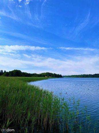 Malownicze miejsce nad Jeziorem Litygajno