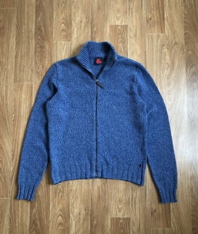 Мужской свитер пуловер Dolce & Gabbana Lambs Wool Full Zip Оригинал