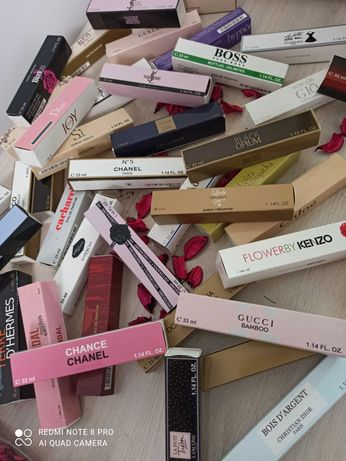 Натуральні брендові парфуми в міні флаконі. Chanel, Dior, Armani і ін.