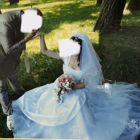 Свадебное платье (корсет/в меру пышное) размер XS-S-M