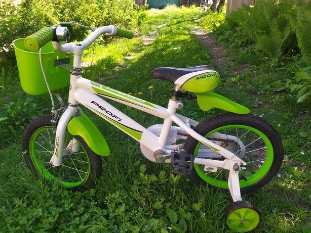 Детский четырехколесный велосипед profi