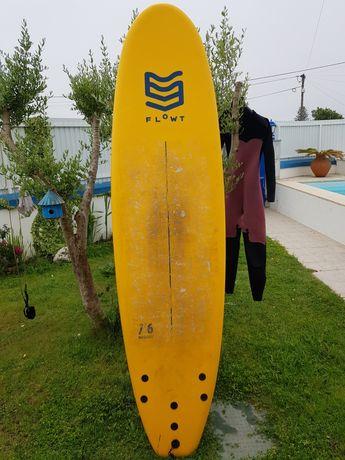 Prancha de surf 7.6 softboard Flowt