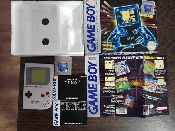 Game Boy Classic DMG em caixa