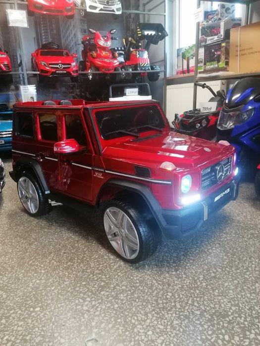 Samochód Mercedes G 65 na akumulator dla dzieci Licencjonowany Lakier Libiąż - image 1