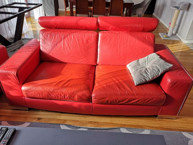 Wypoczynek rozkładany plus dwa fotele i pufa
