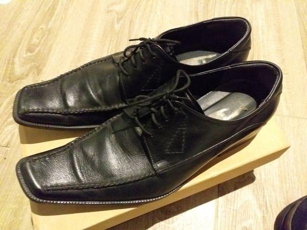Eleganckie męskie buty skórzane 43