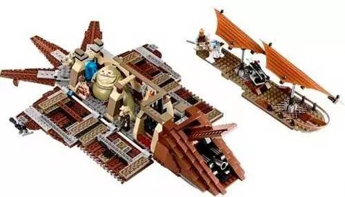 Lego Star Wars 75020 пустыный корабль Джабы