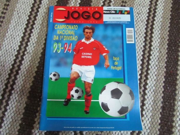 Revista - Época de futebol 1993-94
