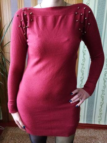 Платье трикотажное, плаття, сукня