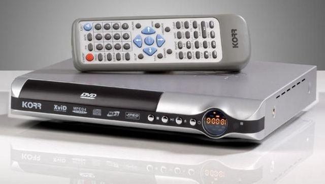 Odtwarzacz DVD marki KORR