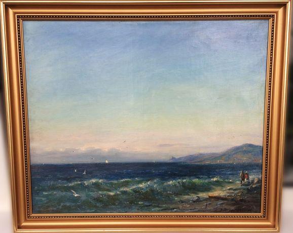 Картина М. Петрова-Маслакова «Вечер на море»
