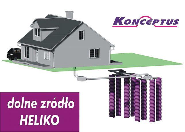 Gruntowa pompa ciepła 6 kW kompletna instalacja