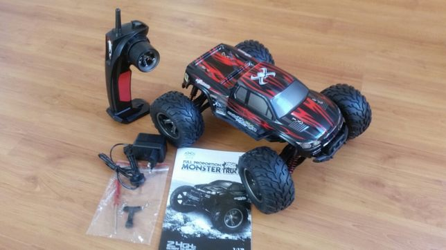 Carro RC telecomandado mini Monster Truck 9115 40Km/h 2.4GHz LiPo