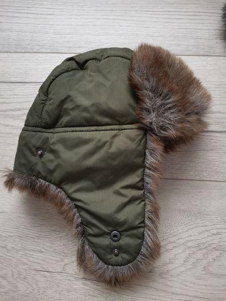 Ушанка зимняя шапка Dembohouse Дембохаус 50 размер
