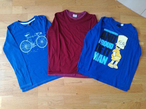 Koszulki z długim rękawem 140 cm