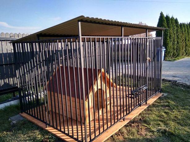 Klatka,stalowa konstrukcja,kojec dla psa box