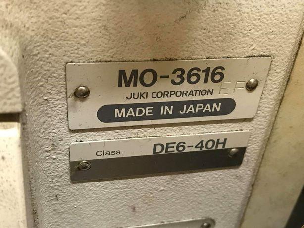 Maszyna typu owerlok Juka