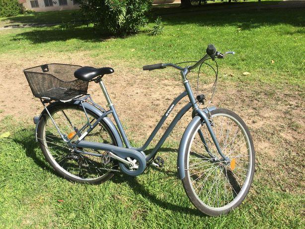 BICIcleta Decatlhon BTWIN - 120 Quadro Baixo Azul + Cesto 13 Litros