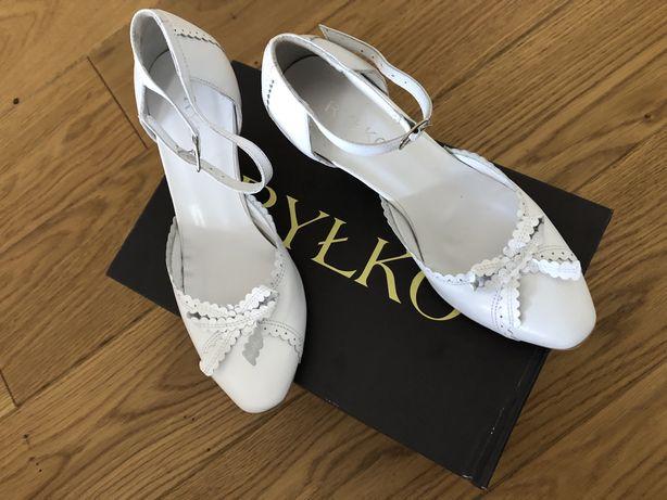 Nowe buty ślubne czółenka Ryłko rozmiar 36,5