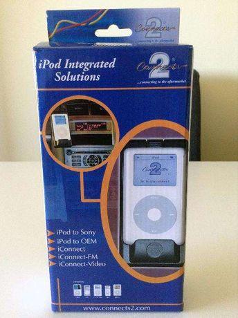 Conector de iPhone ou iPod para auto-rádio