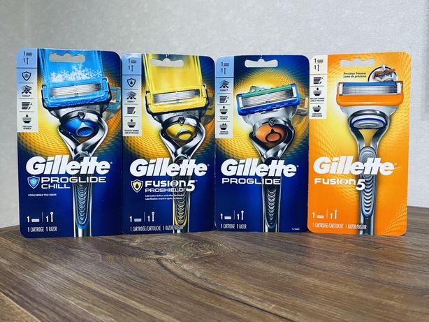 Бритви Gillette Fusion Proglide