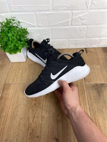 Спортивные кроссовки Nike original 40 черные удобные 25.5см