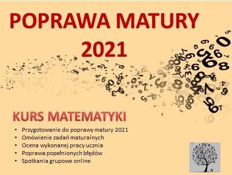 Korepetycje matematyka POPRAWA MATURY online