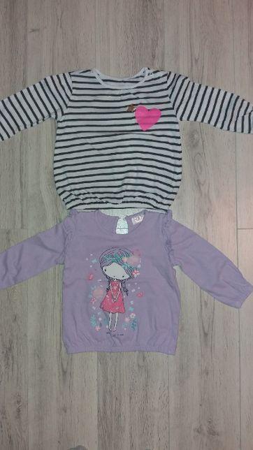 Ubranka dla dziewczynki r. 80