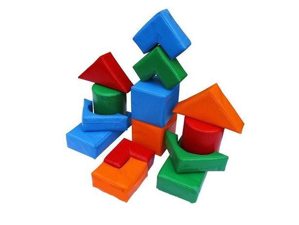 Детские мягкие модули, конструктор для развития ребенка СМ-6