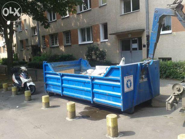 Kontenery, worki big bag, wywóz śmieci, rozbiórki wyburzenia