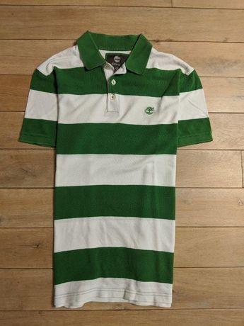 TIMBERLAND koszulka męska tshirt paski guziki bawełna Idealna L XL