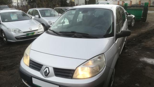 Renault GRAND Scenic II 1,6 2005r 7 OSÓB zadbany serwis raty zamiana
