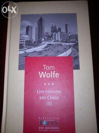 """Livro """"Um Homem em Cheio"""" Tom Wolfe"""