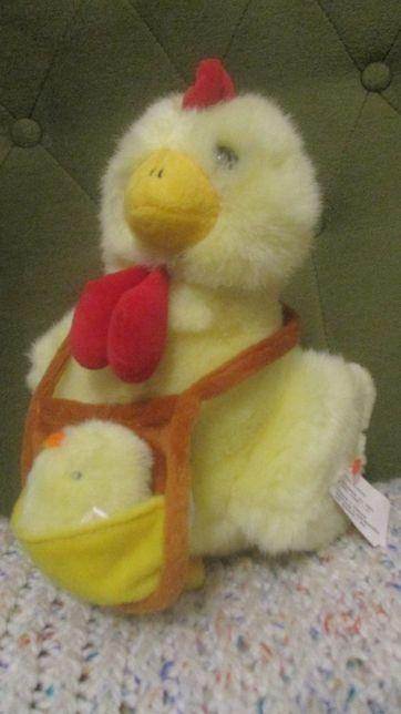 Pluszak ,maskotka kura z kurczaczkiem -nowa z metką