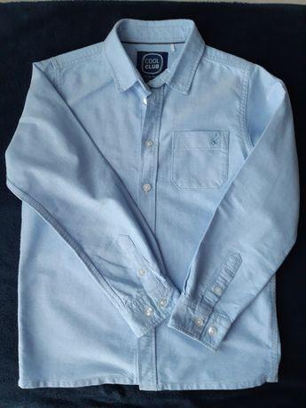 Koszula błękitna elegancka dla chłopca Cool Club Smyk roz. 140