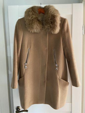 Пальто шерстяное осень-зима
