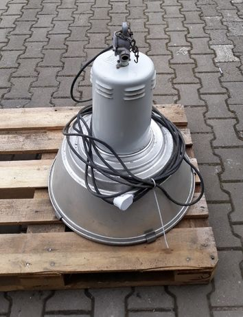 Lampa Siemens 400W 230V przemysłowa hala garaż loft