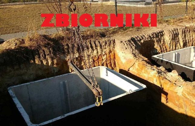 Szambo Betonowe na gnojowice Betonowy Zbiornik 8m3 odchody ścieki