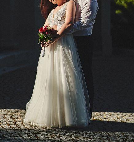 Suknia ślubna Elizabeth Passion 4046 rozmiar 36